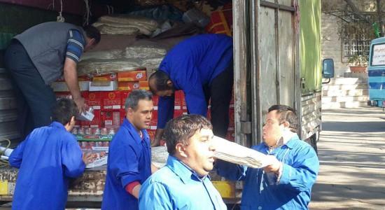 کمک به زلزله زدگان غرب کشور